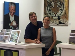 Marc and Lindy Alexander at The Studio Art Gallery