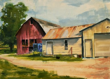 Lind Farms 12x16 $350