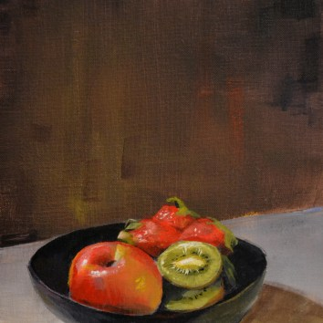 Fruit Bowl 9x12 $250