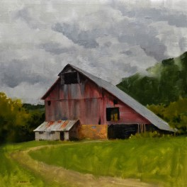 Gilmanton Barn 24x24-Sold