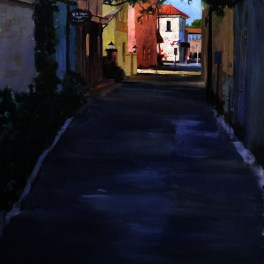 St. Augustine Alley 24x36- Sold