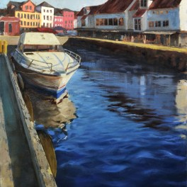 Bergen Harbor 20x30- Sold