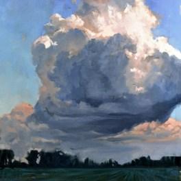 Clouds Over Door County 24x36- Sold