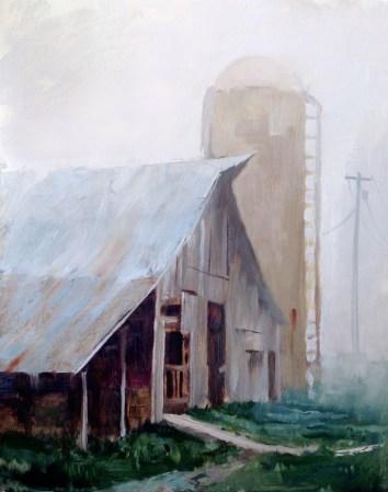 Foggy Mountain Breakdown 11x14- Sold