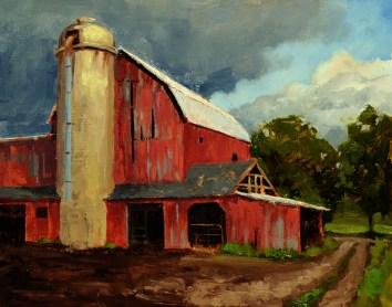 Plymouth Farm 11x14- $550