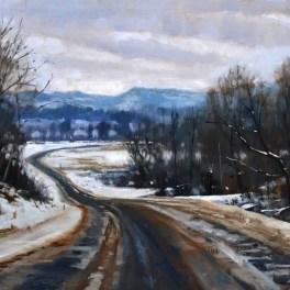 Driftless Road 20x30