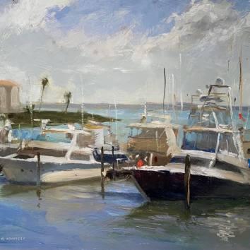 Florida Boats-2 12x16 $650