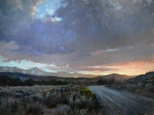 Uncompahgre Sunset 36x48  $5500