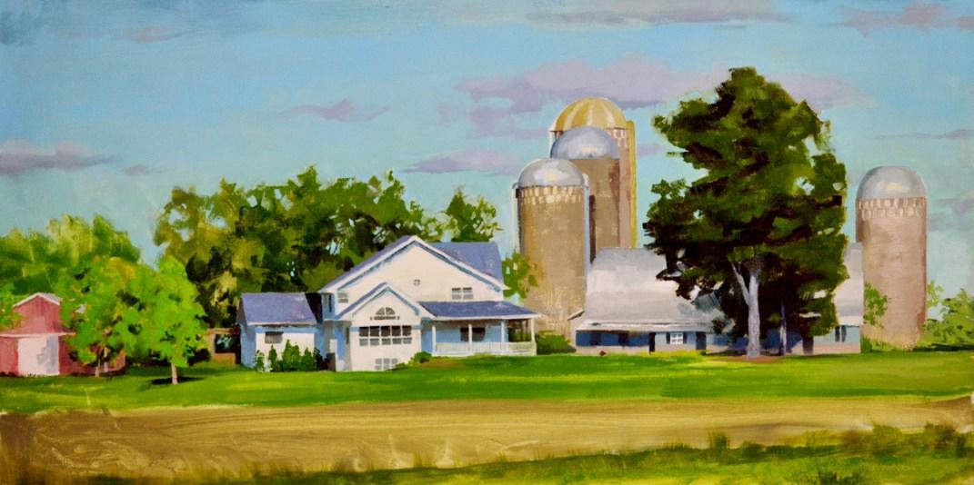 Farm on the Wisconsin Savannah $1100