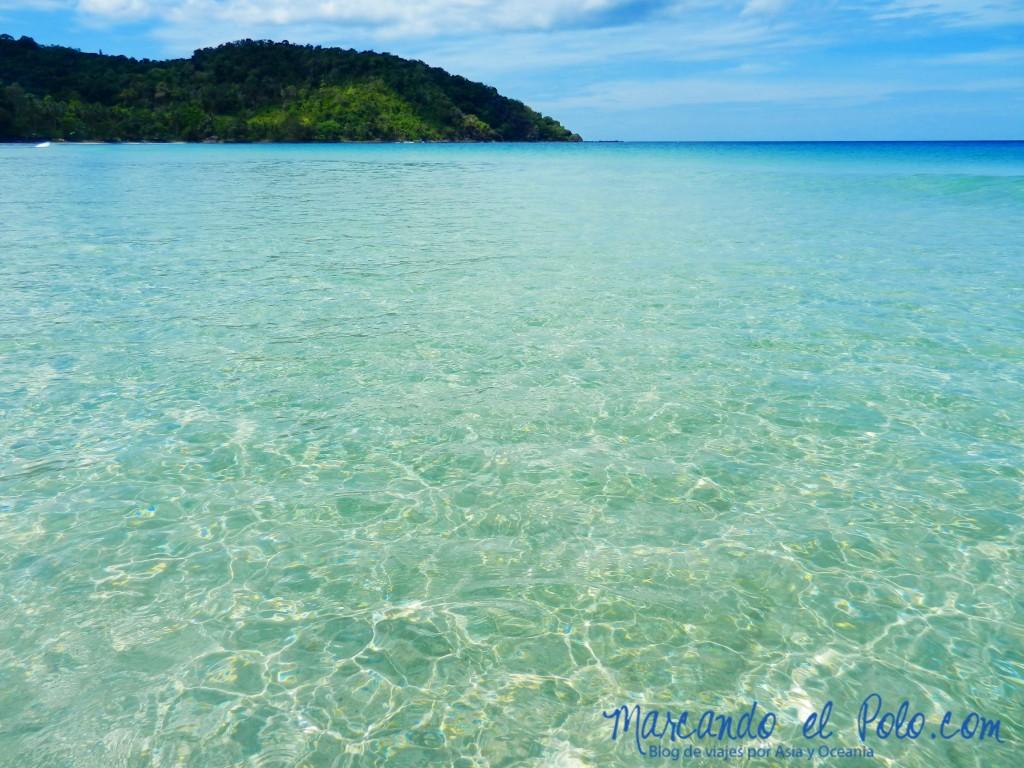 Playa Nagtabon, Palawan, Filipinas