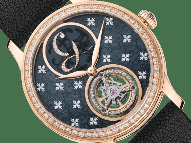 Charles Girardier agrega tourbillon a su galardonado reloj Signature Mystérieuse para mujer