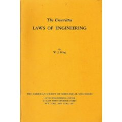 Portada original libro de W.J. King
