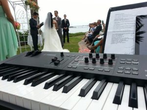Wedding Pianist Los Angeles Beach Wedding