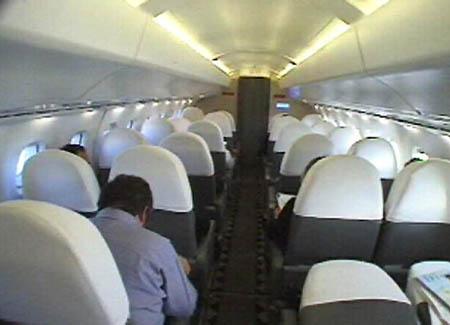 Concorde cabin image