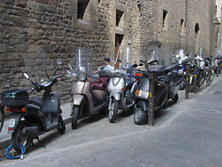 Vespa parking image