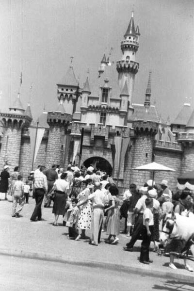 Disneyland 1955 Castle