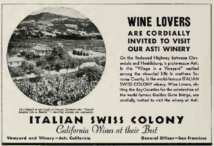 United Vintners Italian Swiss Colony
