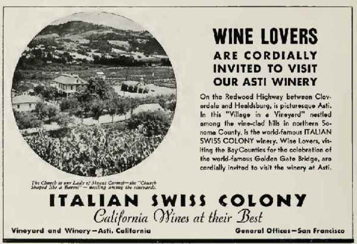 United Vintners Italian Swiss Colony
