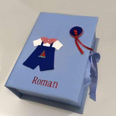 B14C-24B-Baby-Blue-Silk-Style-107-Red-Thread-Roman