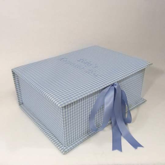 B14C-9-Blue-Gingham-Cotton-Style-151-Baby-Blue-Thread