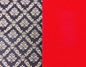 Ecru-on-Black-Brocade-with-Red-Bengaline