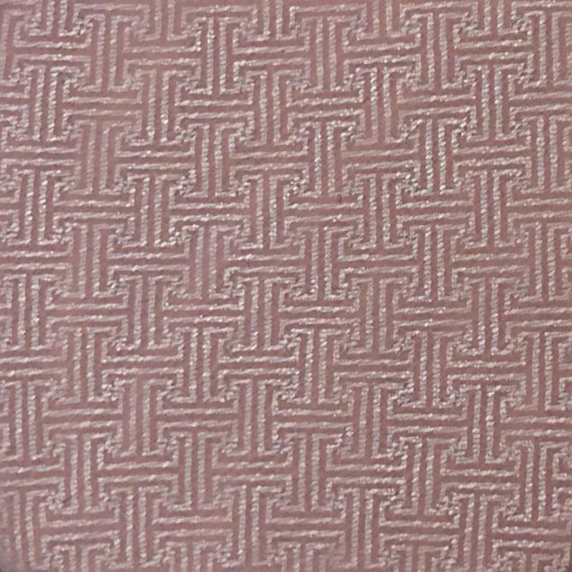 Fabric-Swatch-Brocade-Geometric-Cream-Stripes-on-Rose-Brocade