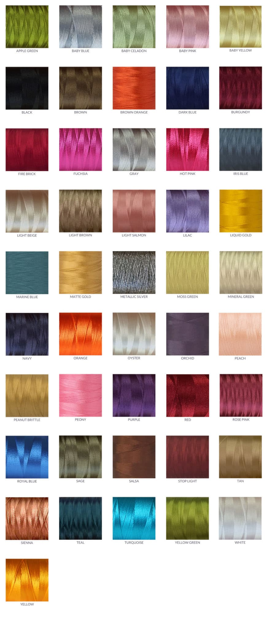 Thread-Color-Options