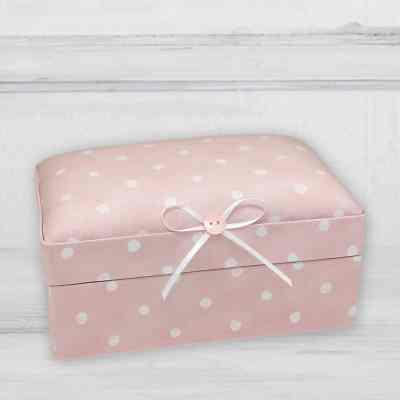 Small Baby Keepsake Box - Darling Dots