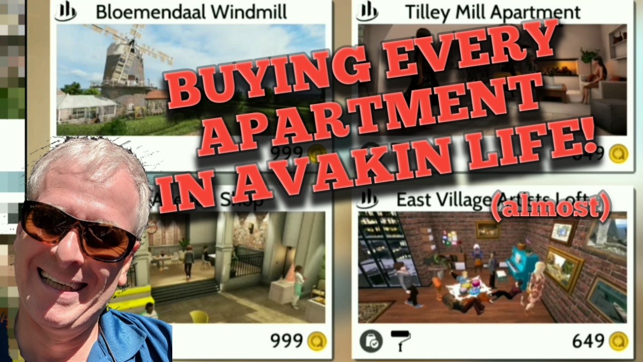 Buying EVERY HOME in Avakin Life. Well, almost.