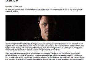 DJ Markus Schulz wil de fun terug in de trance