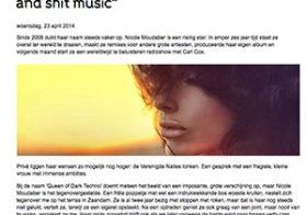 Interview DJ/producer Nicole Moudaber