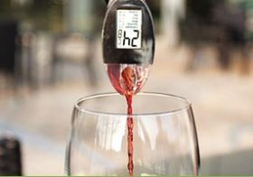 Perfect glas wijn
