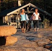 Varend vakantiehuis in Finland