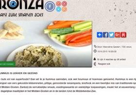 Blog: Hummus is lekker en gezond