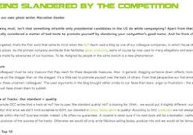 HoT Blog Being Slandered