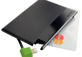 Snellader op creditcardformaat