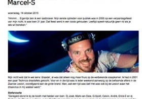 First Gig DJ Marcel Sprenger
