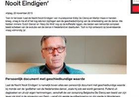 Eddy De Clercq: Laat de Nacht Nooit Eindigen