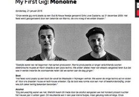 My First Gig: Monoline