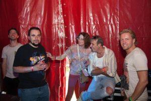 DJ Diablo and Marceline at Wooferland 2015