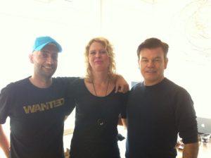 Paul Oakenfold, Marceline Geelen, DJ Brent Spar