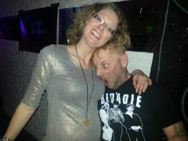 DJ BeNRG and myself
