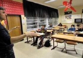 Arme eenzame mannen in het onderwijs