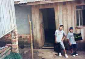 My First Gig Rafael Lopez and Phabian Edward aka DJs/producers Afrozoid (Brasil)