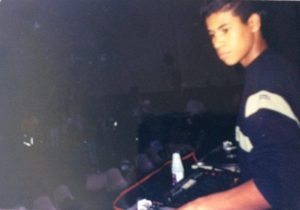 Afrozoid's Lopez as a teenager already into music