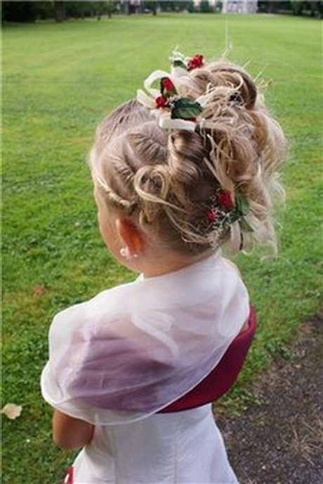 Coiffure Mariage Petite Fille 2 Ans Ivory Hairstyle