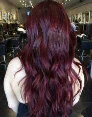 couleur de cheveux acajou