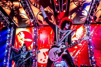Kiss, Grote glamrock show Kiss in Ziggo Dome Amsterdam met een rij aan hits