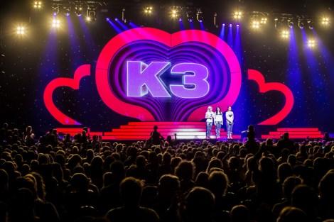 K3, K3 tot ziens, hallo K3!