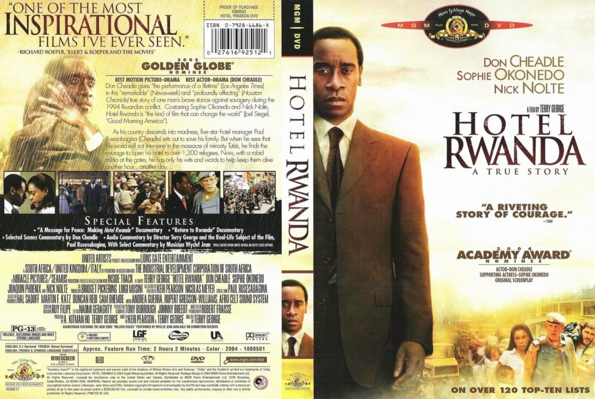 Hotel Rwanda 2004 Million Voices Marcella Purnama